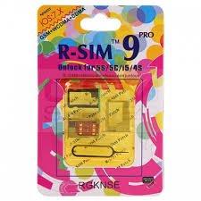 GEVEY R-SIM 9 PRO Iphone 5S / 5C /5 et 4S Turbo sim