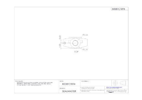 Bore .3750 Max RedLine Tools - RGB1211160 Carbide Grooving Tool .3750 Min Finish .3750 Shank Dia Depth 2.5000 OAL Uncoated Bright
