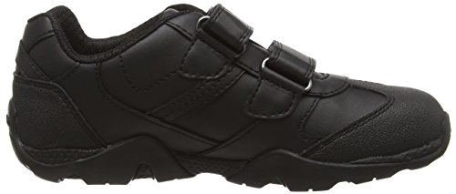 Aragonboy GEOX M US 12 BR Black Sneaker Kid JR 33 2 Boys' Big xvFqrwzEx