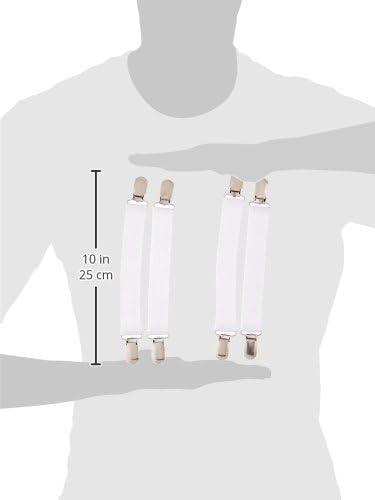 Clara Clark Vnd/_US/_8P-BS-PIN Bed Skirt Pins Set of 8 Pins