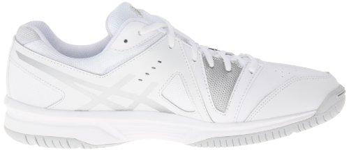 White Silver de tenis de Game Gel punto la White Zapatillas mujer Asics qOTvzZ