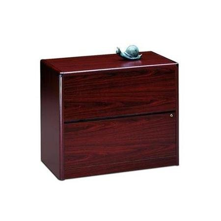 (HON 10762NN 10700 Series Two Drawer Lateral File, 36w x 20d x 29 1/2h, Mahogany)