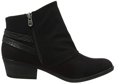 Black Saddlerock Black Boots Blowfish Sistee Women's Snake Charmer 012 Ankle qxXHqUO7