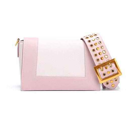 unicaRosa Strap tracolla per Bagcolorebiancotaglia Fashion Bag Small Messenger Square Lady Wide tCosxQdhrB
