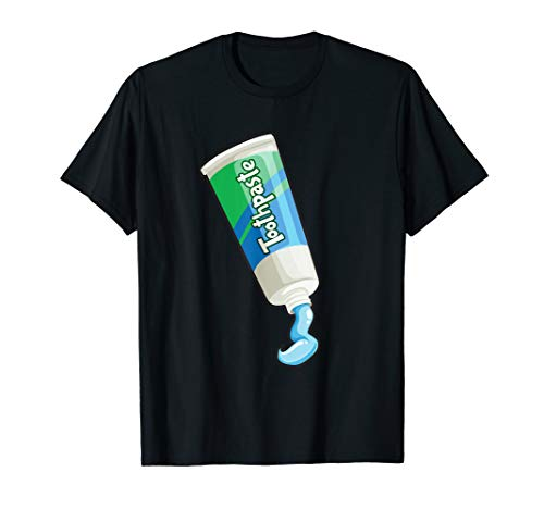 Funny Toothpaste Halloween Group Costume T-Shirt ()