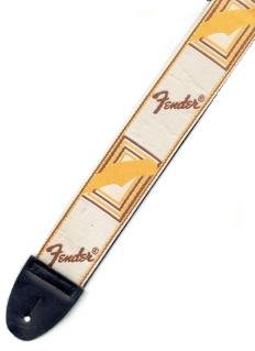 CORREA GUITARRA ELECTRICA - Fender (0683) Estrecha (Blanca): Amazon.es: Instrumentos musicales