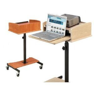 Oklahoma Sound LSS-FM Laptop Speaker Stand - Fusion Maple