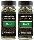 Trader Joe's Spices of the World BASIL 0.3 Oz - 2-PACK