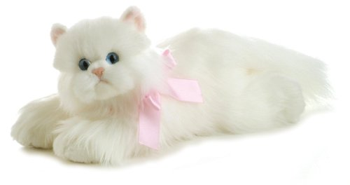 Fluffy Cat - Aurora World Flopsie Plush Cindy Cat, 12