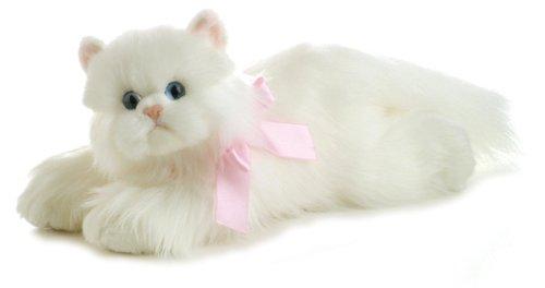 Aurora World Flopsie Plush Cindy Cat, 12