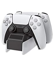 USB Charger Station for ps5 Controller,MOLICUI Charging Dock Compatible with Playstation 5 Dualsense