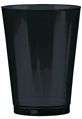 Big Party Pack  Plastic Cup   10 oz.   Jet Black   Pack of 72   Party Decor