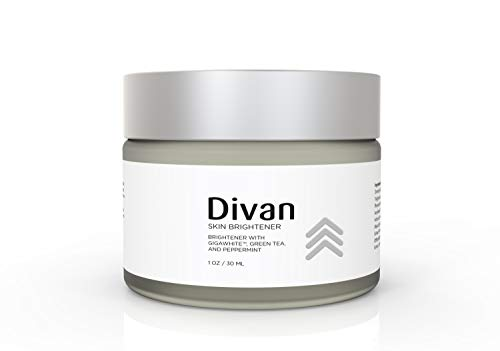 Divan Beauty Skin Brightener Cream with Gigawhite, Green Tea, and Peppermint. Remove age spots and lighten your skin to reveal younger looking skin.Balances uneven skin tones.For morning and night.1oz