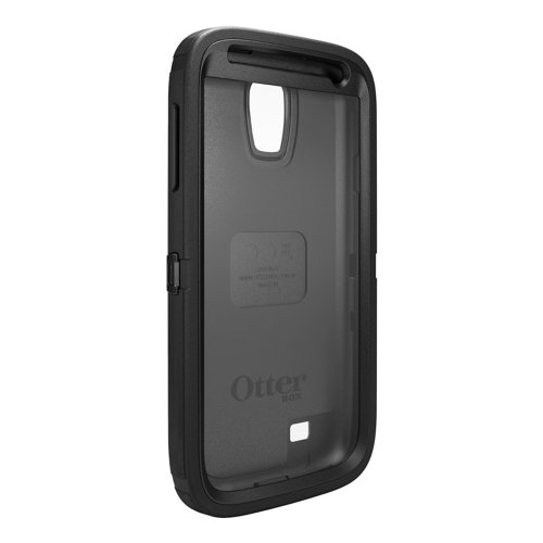 OtterBox Defender Series Case and Holster for Samsung Galaxy S4 - Retail Packaging - Black