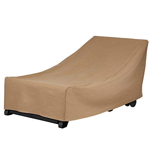 Duck Covers Essential Patio Chaise Lounge Cover, 74-Inch ()
