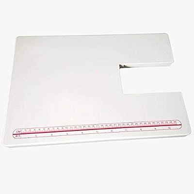 YICBOR - Mesa extensible acrílica para máquina de coser Singer: Amazon.es: Hogar