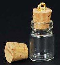 bulk mini glass jars with cork lids for diy wedding favors 10ct everything else. Black Bedroom Furniture Sets. Home Design Ideas