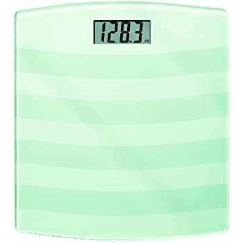 Ww Scales By Conair Digital Painted Glass Bathroom Scale 400 Lb Capacity White