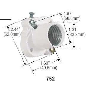 Socket,Medium-Base,White