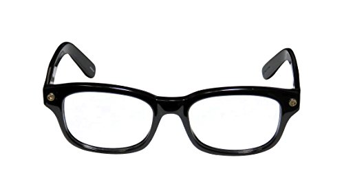Elizabeth and James Womens Beacom Shiny Black Frame Glasses - 50mm width lens