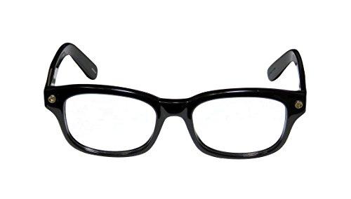 Elizabeth and James Womens Beacom Shiny Black Frame Glasses - 50mm width lens