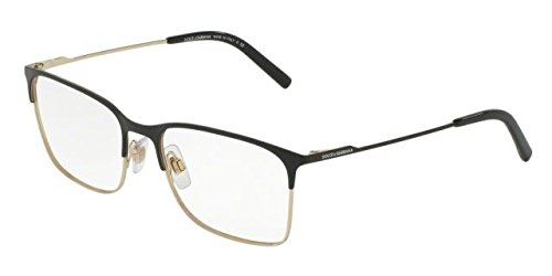 Eyeglasses Dolce & Gabbana DG 1289 1305 MATTE BLACK/PALE - Frames And Gabbana Dolce Glass