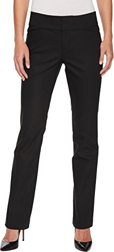 Liverpool Women's Graham Bootcut Trousers in Black Black 10 33 Back Zip Stretch Trousers