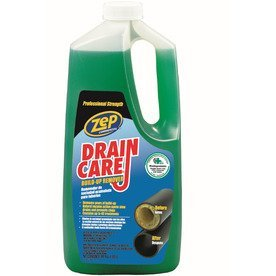 ZEP Commercial Drain Care Drain & Pipe Build-up Remover (Removes Build-up in Drains & Prevents Clogs) 2 Quarts - 64 Oz.