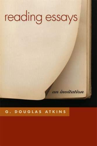 Reading Essays: An Invitation