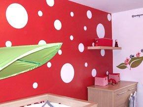 Parete A Pois Fai Da Te : Ccg pois adesivi da parete vinyl wall art decal cerchio adesivi