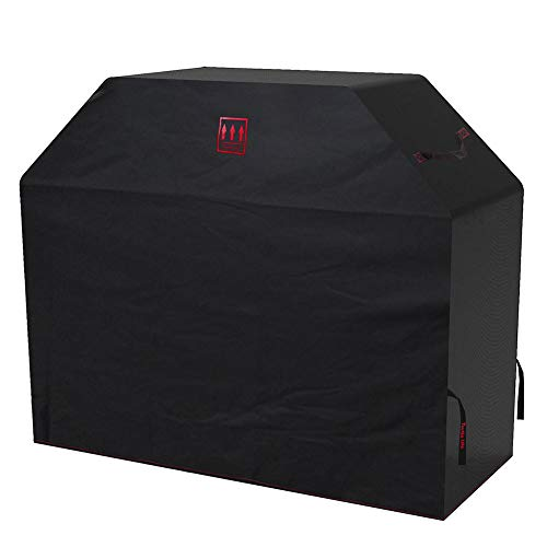 Turtle Life 70 inch Grill Cover, Premium Durable Waterproof BBQ Cover with Handles and Straps(Black)