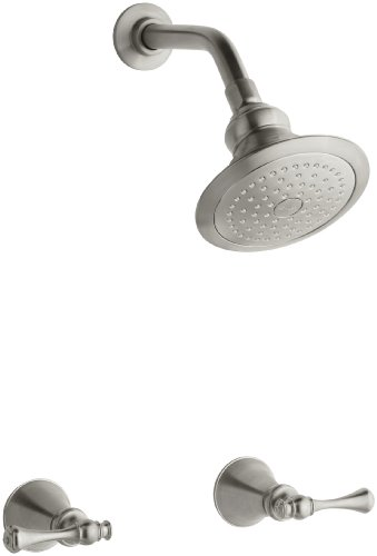 KOHLER K-16214-4A-BN Revival Shower Faucet, Vibrant Brushed Nickel
