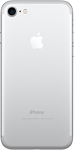 Apple iPhone 7, GSM Unlocked, 128GB - Silver (Renewed) (L Don T Want To Miss A Thing)