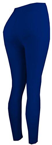 Lush Moda Extra Soft Leggings – Variety of Colors -Plus Size Yoga Waist – Navy