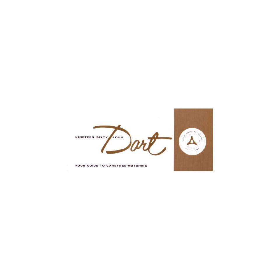 1964 DODGE DART Owners Manual User Guide