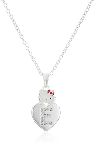 Hello Kitty Girls' Crystal and Enamel