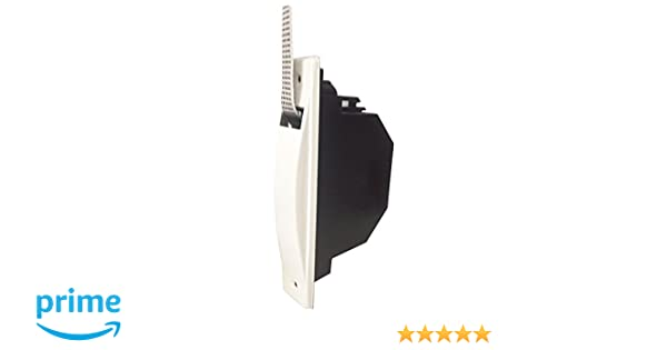 IUNCI 040.008 Recogedor persiana universal C/20, color blanco con placa aluminio atornillada.: Amazon.es: Bricolaje y herramientas