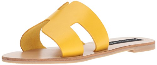 Madden Leather Yellow STEVEN Steve Greece by Women's z8w8pqHT