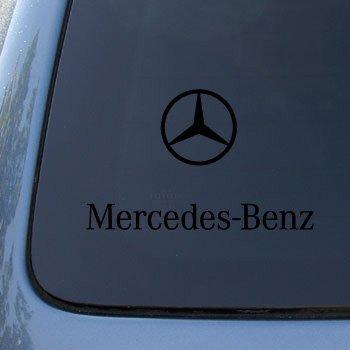 MERCEDES BENZ - Vinyl Car Decal Sticker #1809 | Vinyl Color: Black