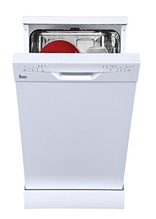 Teka LP8 410 Independiente 9cubiertos A+ lavavajilla - Lavavajillas (Independiente, Blanco, Slimline (45 cm), Blanco, Botones, 9 cubiertos)