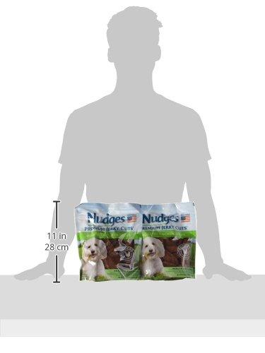 Nudges Health and Wellness Chicken Jerky Dog Treats, 16 oz