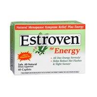Estroven Energy Multi-Symptom Menopause Relief, 40 caplets(6 Pack)