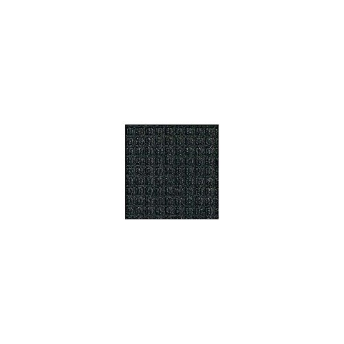 Andersen Waterhog Waffle Design Mat - 3X10' - Rubber Border - Charcoal - Charcoal - 3x10'