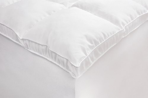 Rio Home Fashions Microfiber Baffled Box California King Fiberbed with Bed Skirt, White by Rio Home Fashions