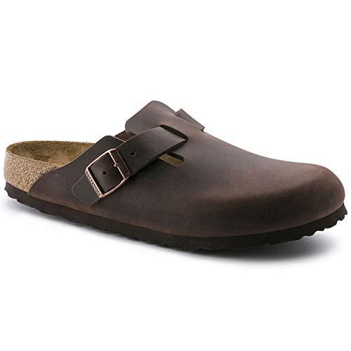 (Birkenstock Unisex Boston Clog,Habana Oiled Leather,38 N EU)