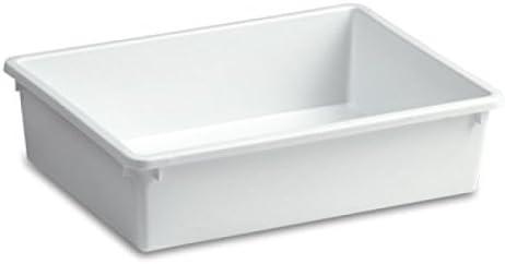 Viscio Trading 108808barreño Nevera, plástico, Blanco, 50x 35x 12cm
