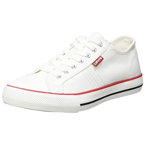chollos oferta descuentos barato Levi s Hernandez S Zapatillas Mujer Regular White 40 EU