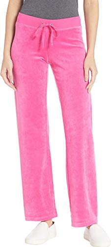 Juicy Couture Women's Mar Vista Velour Pants Couture Pink Medium 33 from Juicy Couture