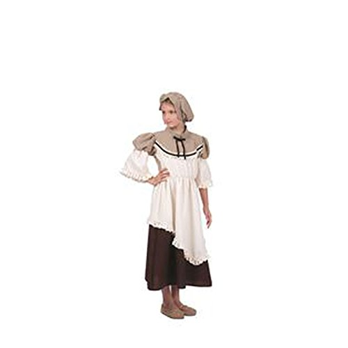 Deluxe Colonial Peasant Girl Costume Child Small (4-6)