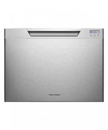 DishDrawer Tall Series DD24SCHTX7 24'' Semi Integrated Single Drawer Dishwasher with 7 Place Settings 9 Wash Cycles Adjustable Racks Eco Option and Energy Star Approved in Stainless by Fisher & Paykel